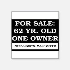 "AGE_for_sale62.png Square Sticker 3"" x 3"""