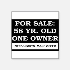 "AGE_for_sale58.png Square Sticker 3"" x 3"""