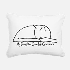 My Daughter Gave me Grandcats Rectangular Canvas P