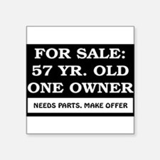 """AGE_for_sale57.png Square Sticker 3"""" x 3"""""""
