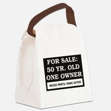 For Sale 50 Year Old Birthday Canvas Lunch Bag