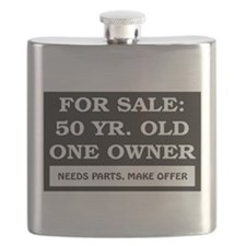 For Sale 50 Year Old Birthday Flask
