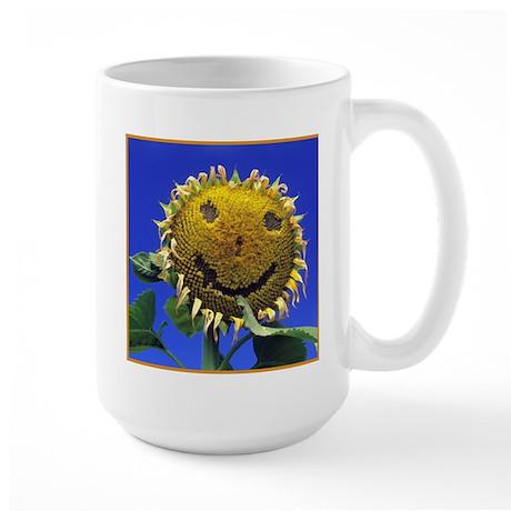 Smiling Sunflower Sq Mugs
