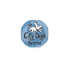 City Dogs Rescue Mini Button