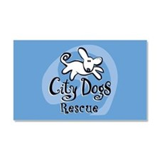 City Dogs Rescue Car Magnet 20 x 12