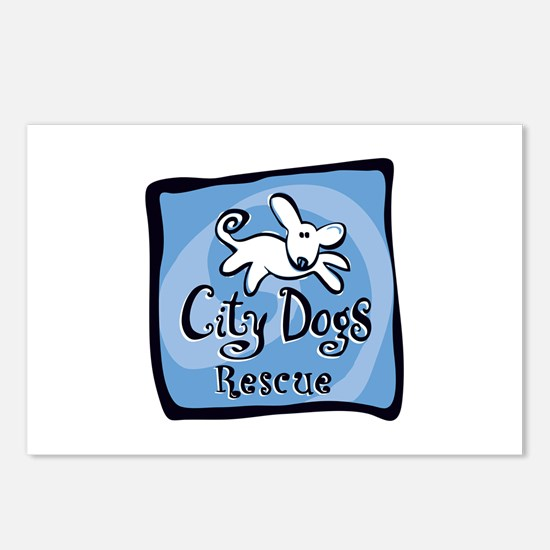 City Dogs Rescue Postcards (Package of 8)