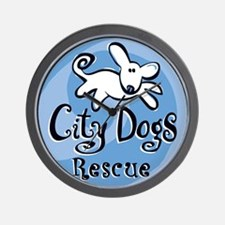City Dogs Rescue Wall Clock