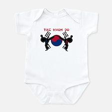 Martial Arts Male Infant Bodysuit
