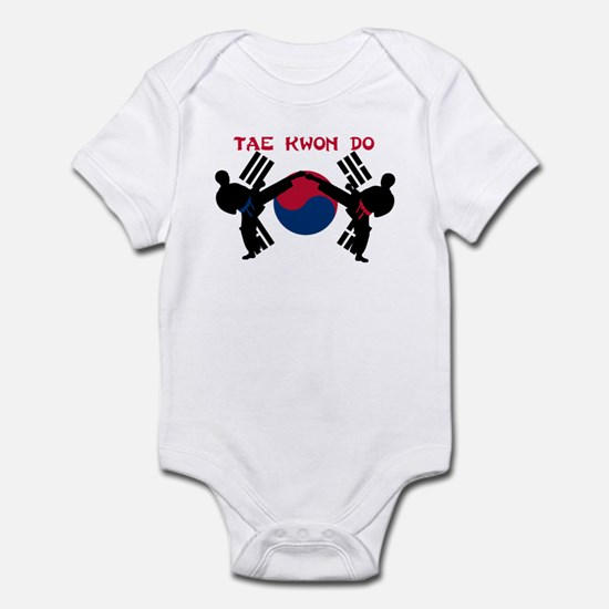 Martial Arts Male Infant Bodysuit