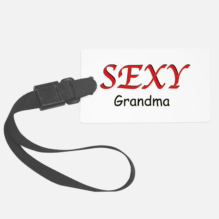 Sexy Grandma Luggage Tag