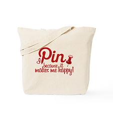 Funny Pin Tote Bag