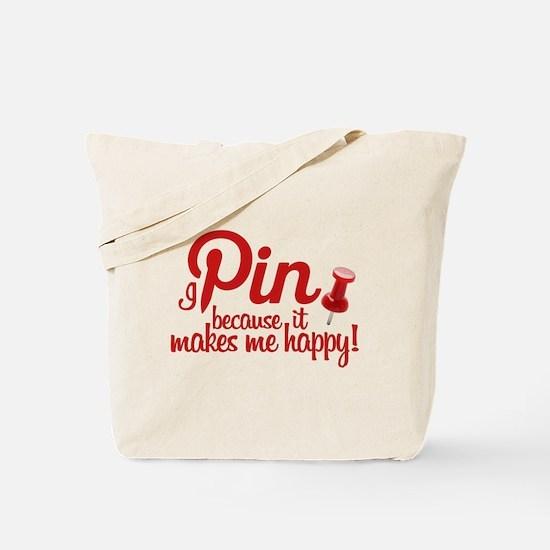 Cute Pinterest Tote Bag