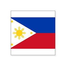Philippines Rectangle Sticker