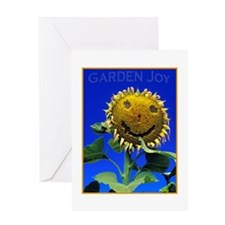 Garden Joy Sunflower Greeting Card