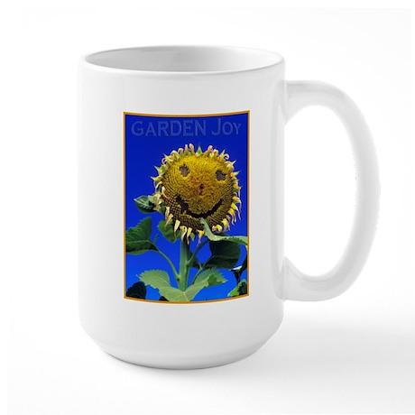 Garden Joy Sunflower Large Mug