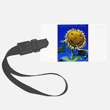 Garden Joy Sunflower Luggage Tag