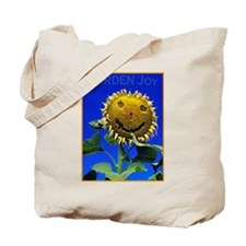 Garden Joy Sunflower Tote Bag