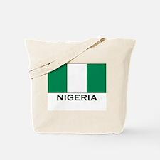 Nigeria Flag Gear Tote Bag