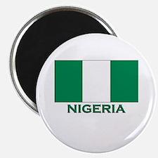 Nigeria Flag Merchandise Magnet