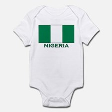 Nigeria Flag Merchandise Infant Bodysuit
