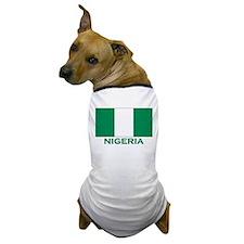 Nigeria Flag Merchandise Dog T-Shirt