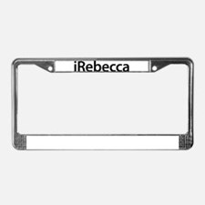 iRebecca License Plate Frame