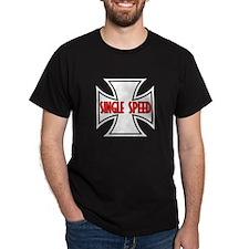 Single Speed Black T-Shirt