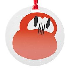 Red DARUMA Ornament