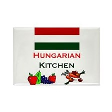 Hungarian Kitchen Rectangle Magnet