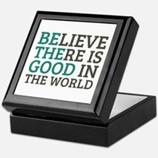 Believe There is Good Keepsake Box