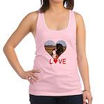 Love Hearts Racerback Tank Top