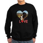 Love Hearts Sweatshirt (dark)