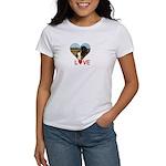 Love Hearts Women's T-Shirt