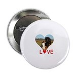 """Love Hearts 2.25"""" Button (100 pack)"""