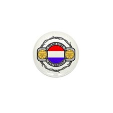 Netherlands Water Polo Mini Button (10 pack)