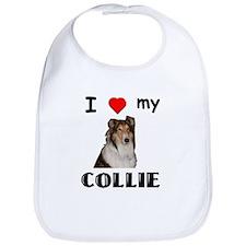 Love my Collie Bib