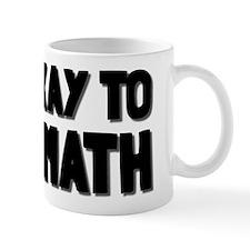 It's Okay To Like Math Mug