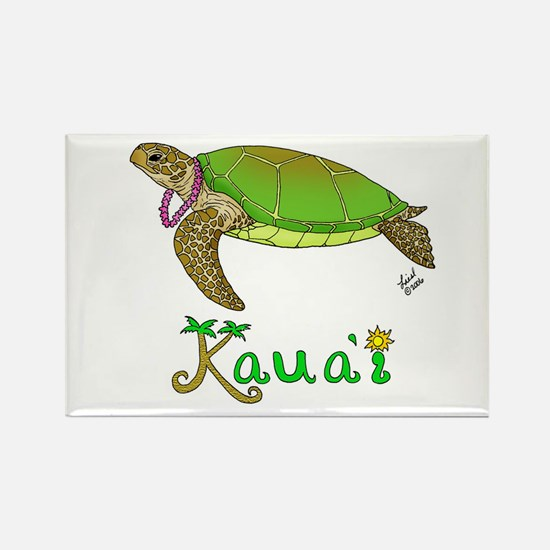 Kauai Rectangle Magnet