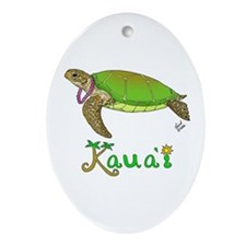Kauai Oval Ornament