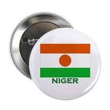 Niger Flag Gear Button