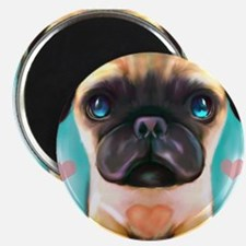 The love Pug Magnet