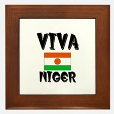 Viva Niger Framed Tile