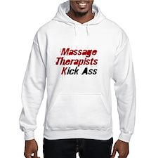 Massage Therapists Kick Ass Hoodie