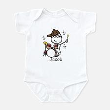 Drumset - Jacob Infant Bodysuit