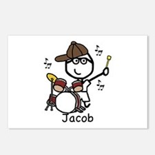 Drumset - Jacob Postcards (Package of 8)
