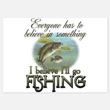 Believe in Fishing Invitations