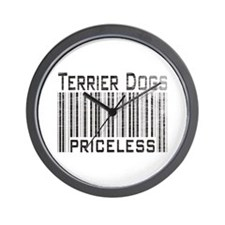Terrier Dogs Wall Clock