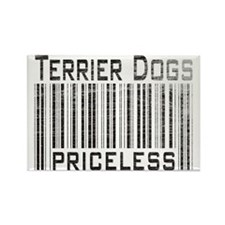 Terrier Dogs Rectangle Magnet