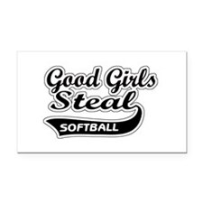 Good Girls Steal Rectangle Car Magnet