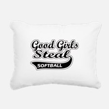 Good Girls Steal Rectangular Canvas Pillow
